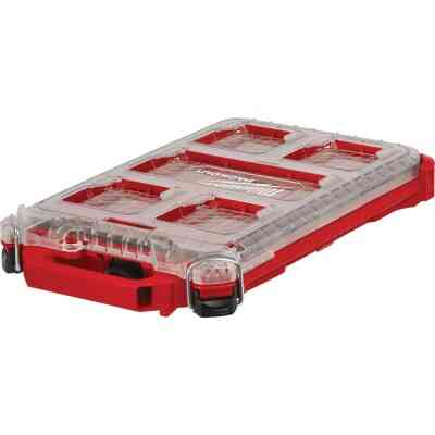 Milwaukee PACKOUT Compact Lo-Profile Small Parts Organizer with 5 Bins