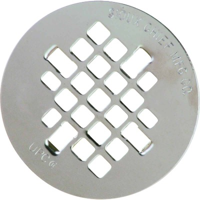 Sioux Chief 4-1/4 In. Stainless Steel Snap-In Shower Drain Strainer
