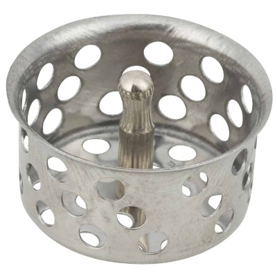 Do it 1-1/2 In. Chrome Removable Strainer Cup with Post