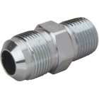 Dormont 5/8 In. OD Flare x 1/2 In. MIP (tapped 3/8 In. FIP) Brass Adapter Gas Fitting Image 1