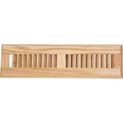 Home Impressions 2-1/4 In. x 12 In. Light Oak Floor Register