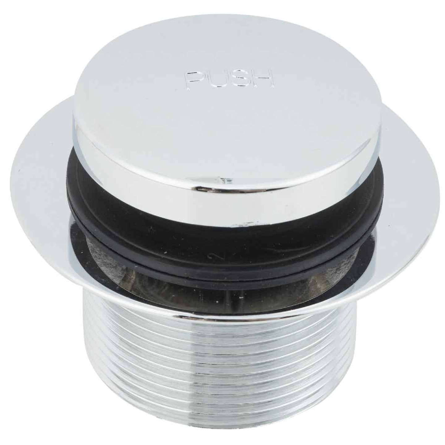 Do it 1-7/8 In. to 2-1/4 In. Bathtub Drain Stopper with Chrome Plated Finish Image 1