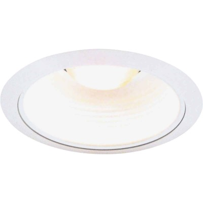 Thomas 5 In. White Baffle Recessed Fixture Trim