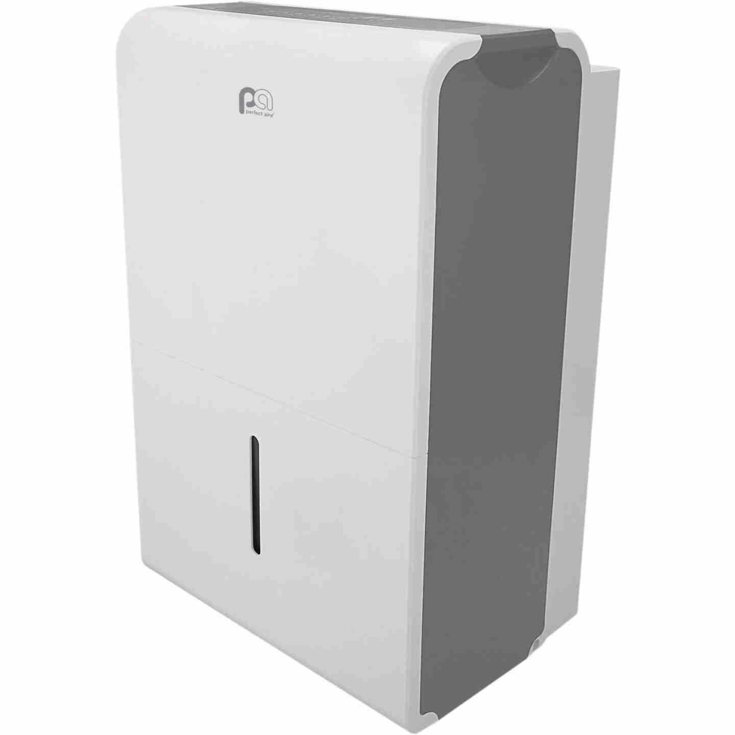Perfect Aire 50 Pt./Day 645 Sq. Ft. Coverage 2-Speed Flat Panel Dehumidifier Image 1