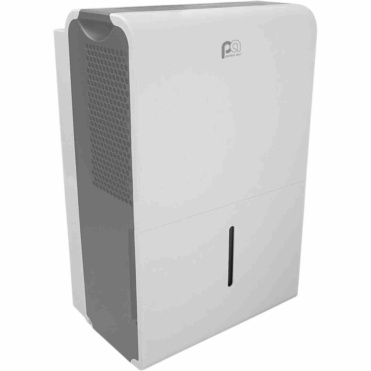 Perfect Aire 50 Pt./Day 645 Sq. Ft. Coverage 2-Speed Flat Panel Dehumidifier Image 3