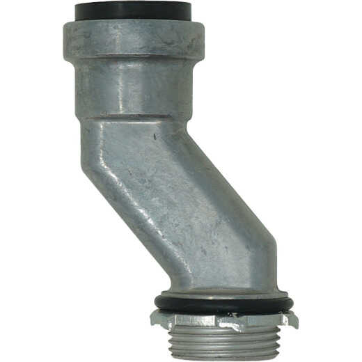 Southwire SimPush 1/2 In. EMT Push-To-Install Offset Connector