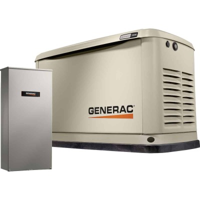 Generac Guardian WiFi 14,000W Natural Gas/LP Home Standby Generator with Smart Switch