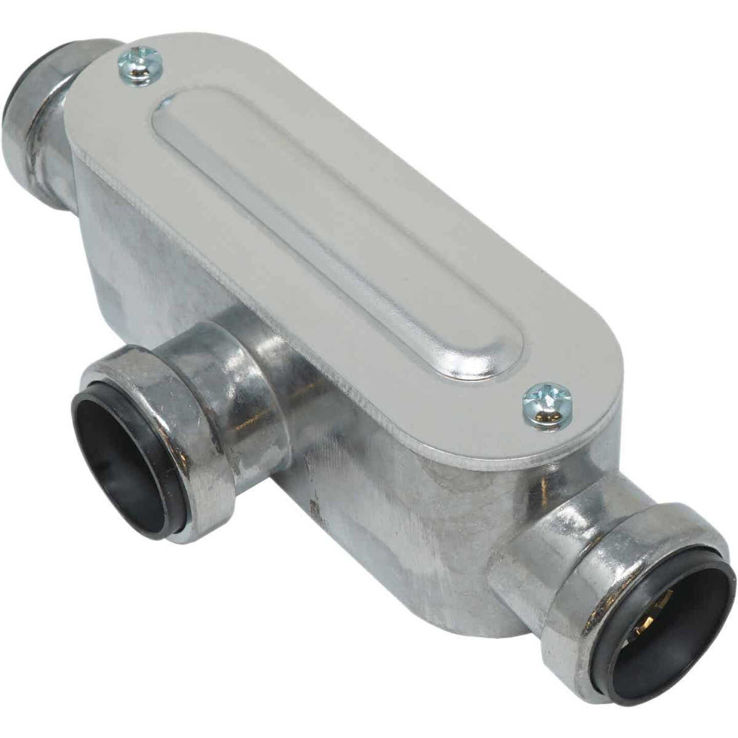 Southwire SimPush 1/2 In. EMT Push-To-Install Type-T Conduit Body Image 1