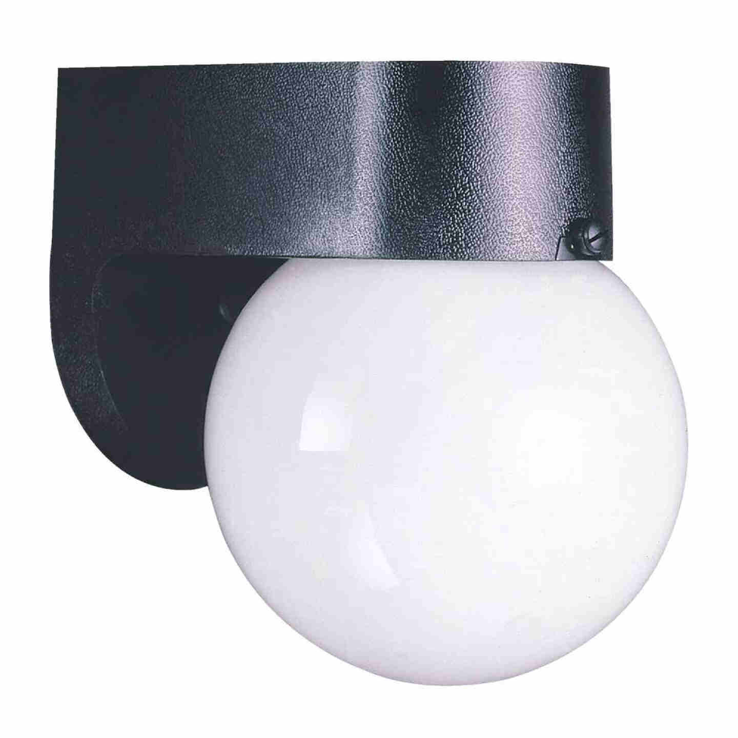 Home Impressions Black Incandescent A15 Outdoor Wall Light Fixture Image 1