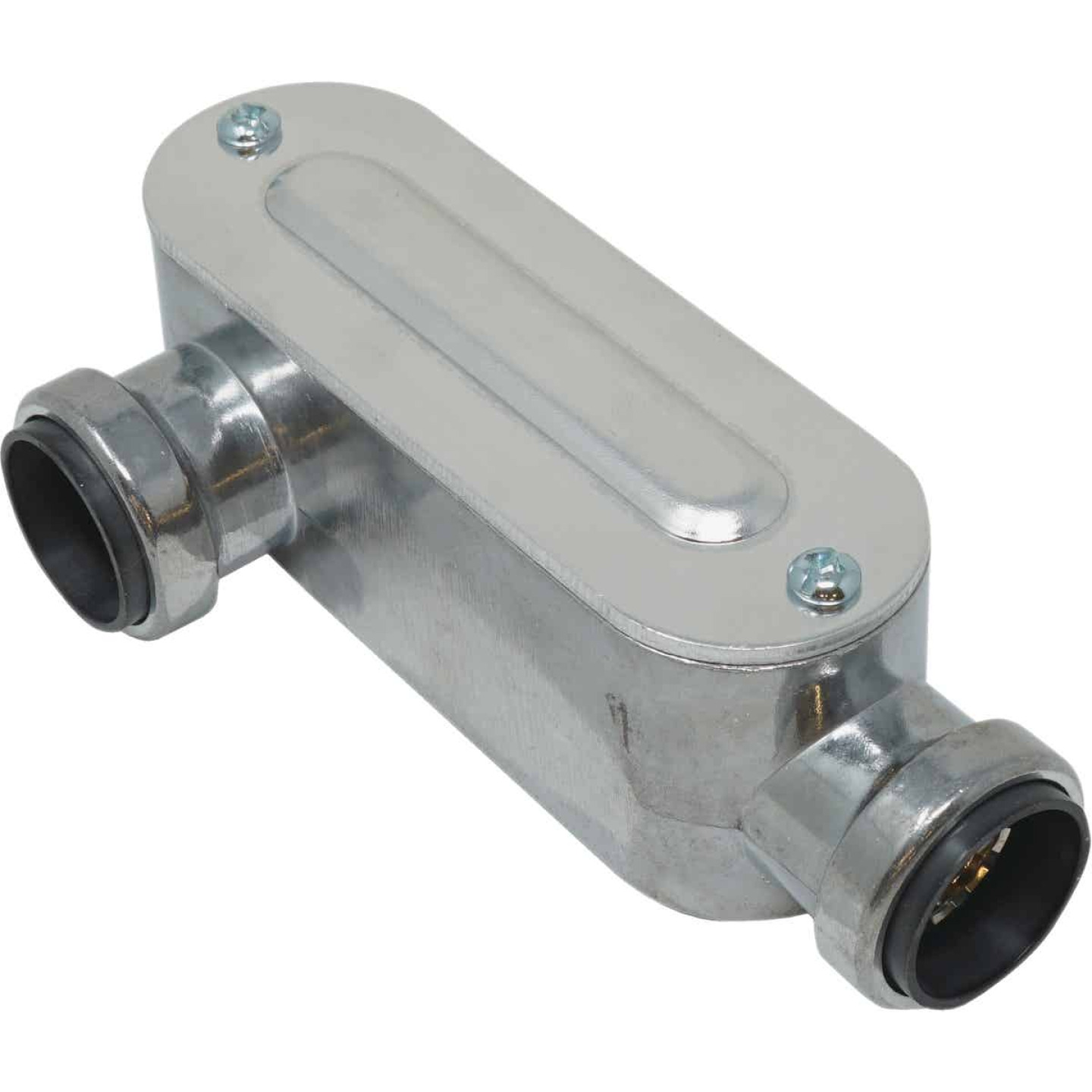 Southwire SimPush 3/4 In. EMT Push-To-Install Type-LR Conduit Body Image 1