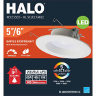 Halo 5/6 In. New Construction/Remodel Color Temperature Changing Retrofit LED Kit, 600 Lumens (California Compliant) Image 2