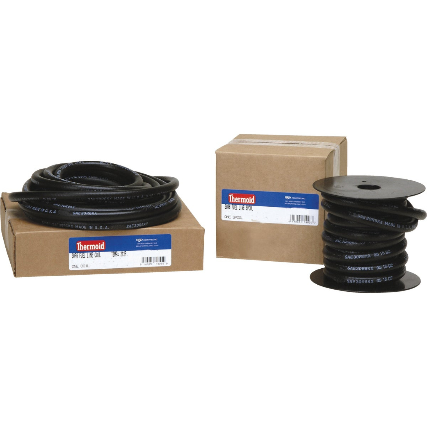 Thermoid 5/16 In. ID x 25 Ft. L. Bulk Fuel Line Hose Image 1