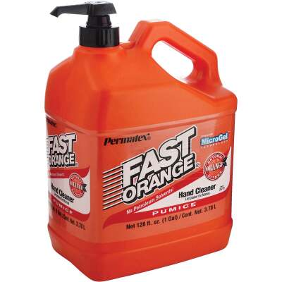 PERMATEX Fast Orange Pumice Citrus Hand Cleaner, 1 Gal.