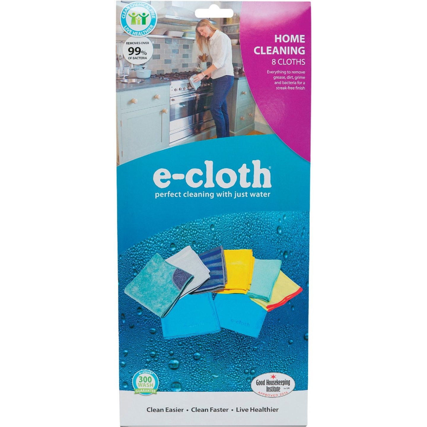 E-Cloth Home Cleaning Cloth Pack (8 Count) Image 2