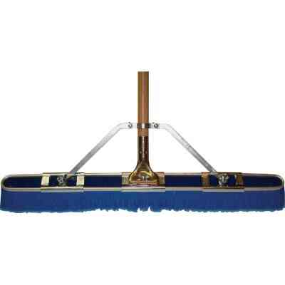 Bruske 29 In. W. x 65 In. L. Wood Handle Fine Sweep Push Broom