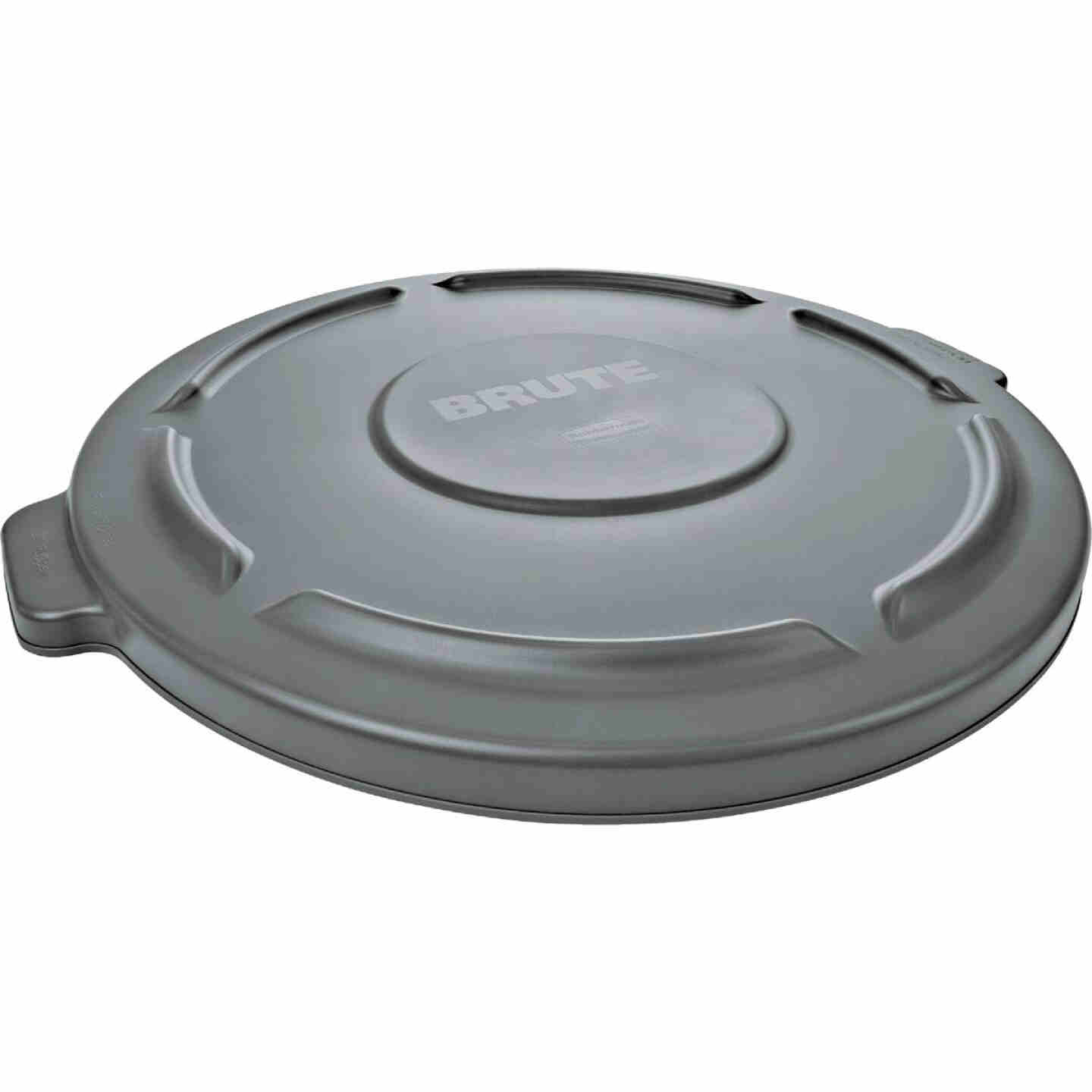 Rubbermaid Commercial Brute Gray Trash Can Lid for 10 Gal. Trash Can Image 1