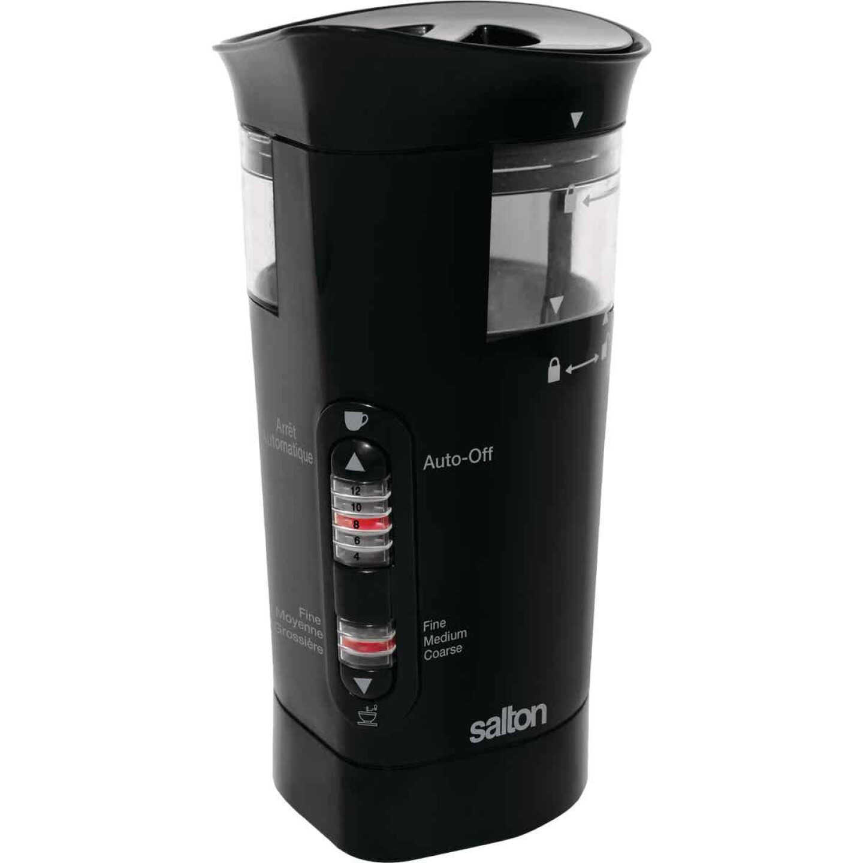 Salton 12-Cup Black Smart Coffee Grinder Image 1