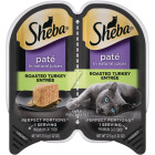Sheba Perfect Portions Pate 2.6 Oz. Adult Roasted Turkey Wet Cat Food Image 1