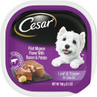 Cesar Loaf & Topper Filet Mignon with Bacon & Potato Adult Wet Dog Food, 3.5 Oz. Image 1