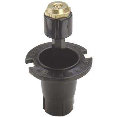 Champion 1.25 In. Half Circle Deluxe Plastic Pop-Up Sprinkler with Brass Nozzle
