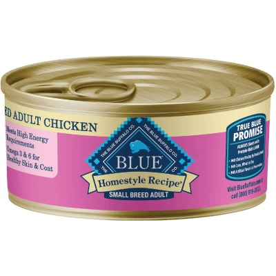 Blue Buffalo Homestyle Recipe Chicken & Garden Vegetables Small Breed Adult Wet Dog Food, 5.5 Oz.