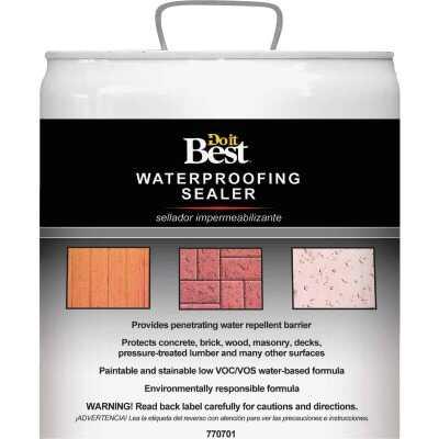 Do it Best Clear Water-Based Waterproofing Sealer, 5 Gal.