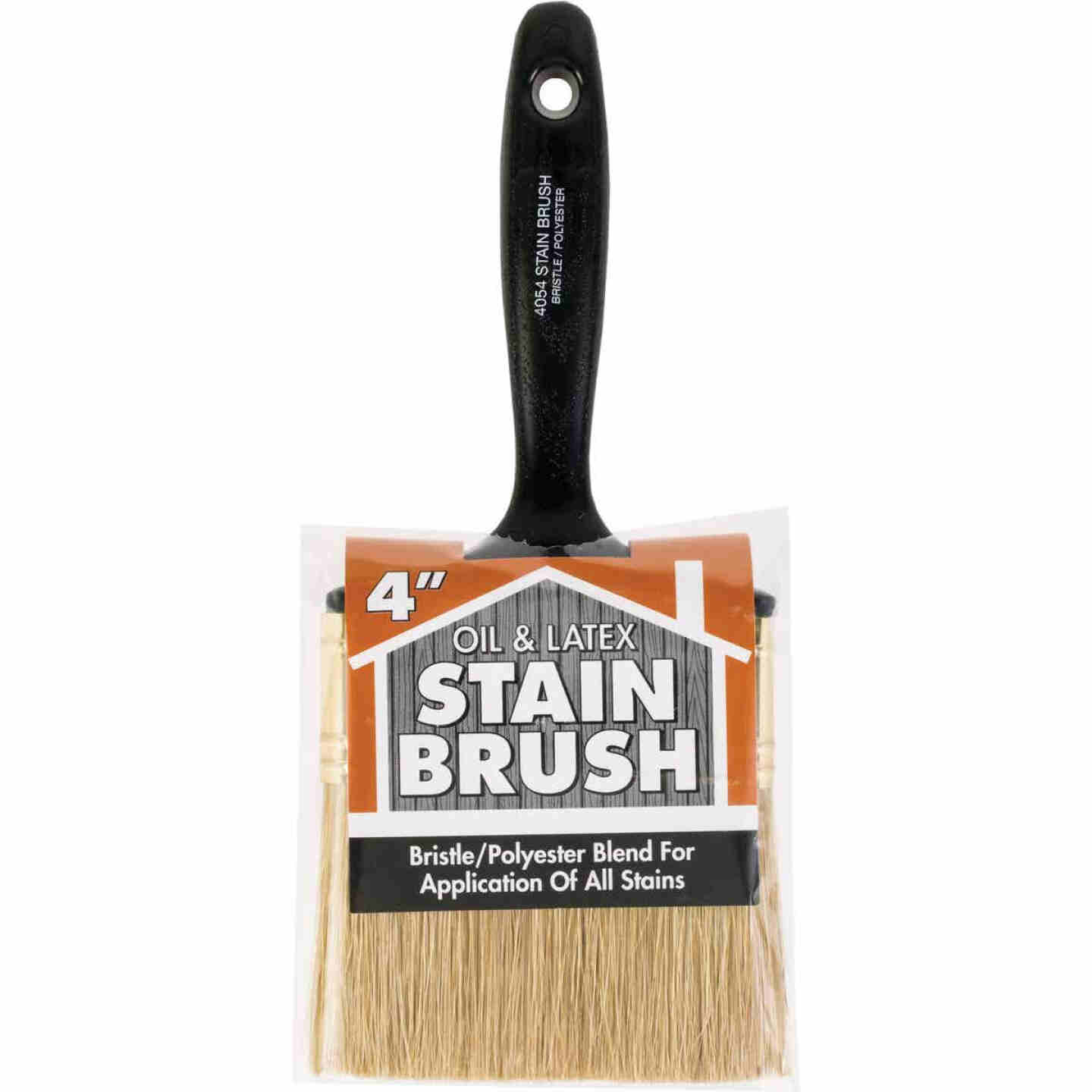 Wooster 4 In. Oil & Latex Stain Brush Image 1
