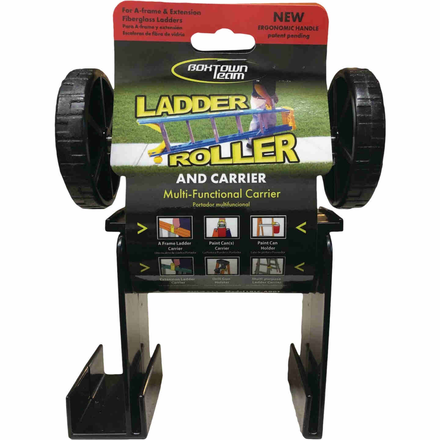Boxtown Team 3.75 In. x 6 In. Ladder Roller/Carrier Image 1