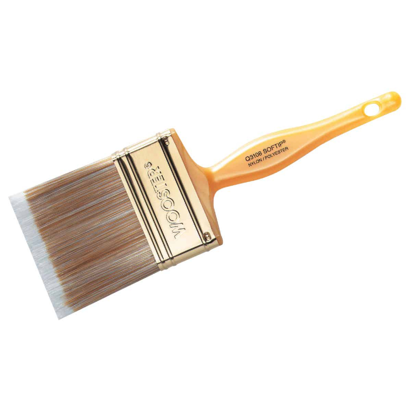 Wooster Softip 2-1/2 In. Flat Sash Paint Brush Image 1