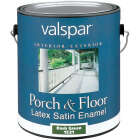 Valspar 1 Gal. Dark Green Self Priming Latex Satin Porch & Floor Enamel Image 1