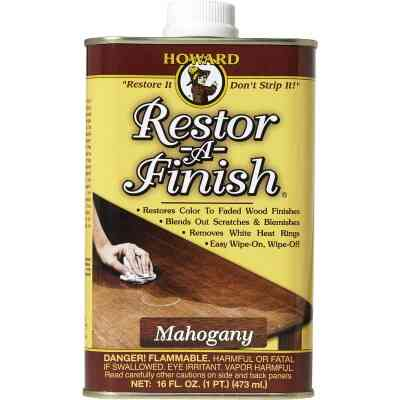 Howard Restor-A-Finish 16 Oz. Mahogany Wood Finish Restorer
