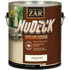 ZAR NuDeck 1 Gal. Dark Tint Base Wood & Concrete Restorative Coating Image 1