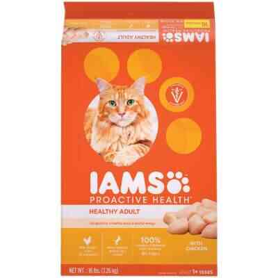 Iams Proactive Health 16 Lb. Chicken Flavor Adult Dry Cat Food