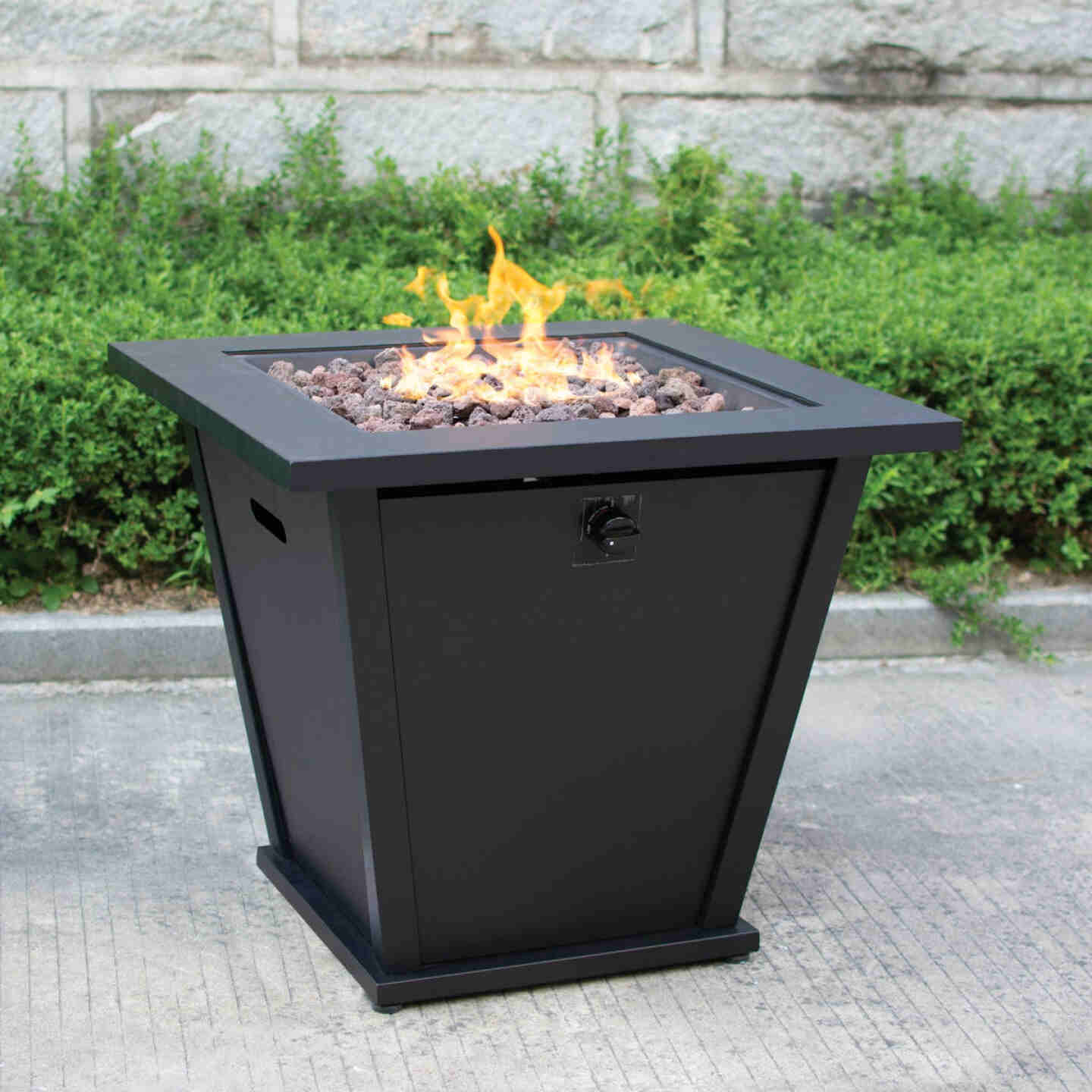 Bond Olivera 28 In. Square Steel Gas Fire Pit Image 2