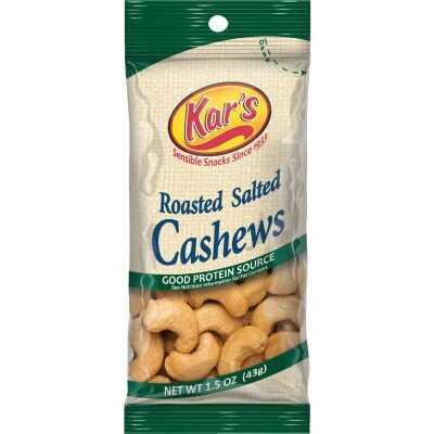 Kar's 1.5 Oz. Salted Cashew Nuts